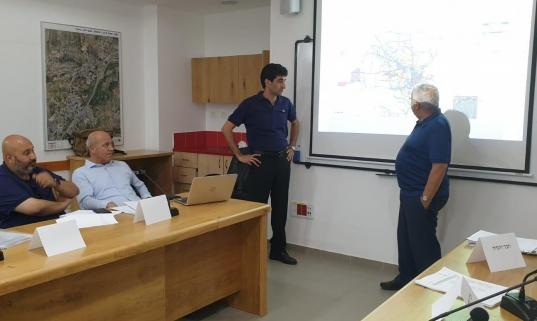 بلدية باقة الغربية تقدم خارطتها الهيكلية للجنة اللوائية في حيفا