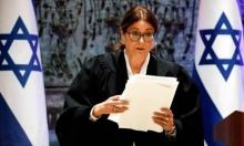 رئيسة العليا تنتقد توجه نتنياهو للحد من صلاحيات الجهاز القضائي