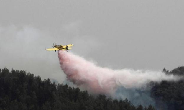 اندلاع موجة حرائق جديدة في وسط البلاد