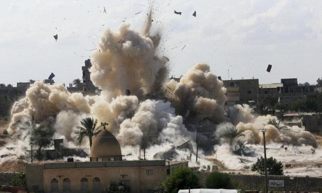"""""""هيومن رايتس"""": جرائم حرب ترتكب بسيناء من قبل الجيش وداعش"""