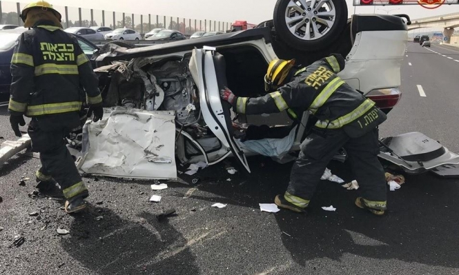 ارتفاع بنسبة الضحايا العرب في حوادث الطرق