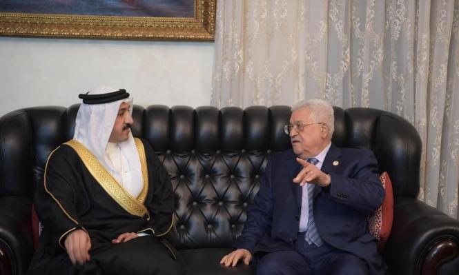 عباس يؤكد لمبعوث ملك البحرين: لن نشارك بورشة المنامة