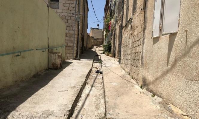 الناصرة: حي العرقية نسيه الزمن... والبلدية