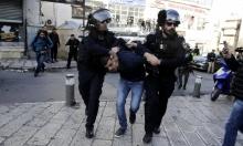 القدس: اعتقال 13 شابا على الأقلّ