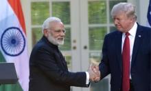 """ترامب: """"إنهاء المعاملات التجارية التفضيليّة للهند"""""""