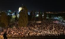مئات الآلاف يحيون ليلة القدر في المسجد الأقصى