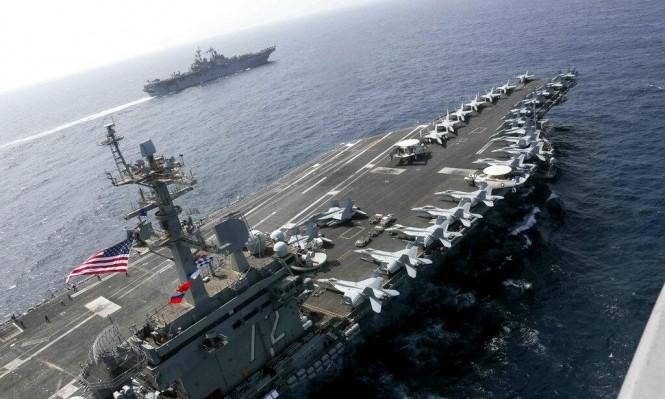 حاملات طائرات أميركية في الخليج العربي (أ ب)