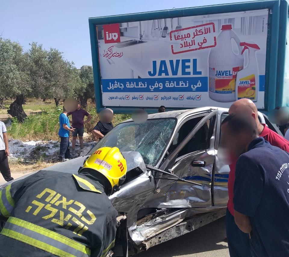 إصابتان في حادث طرق في شعب