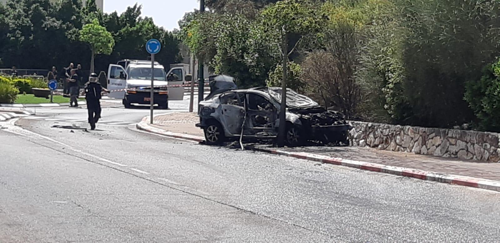 مقتل شخص بانفجار سيارة قرب حيفا
