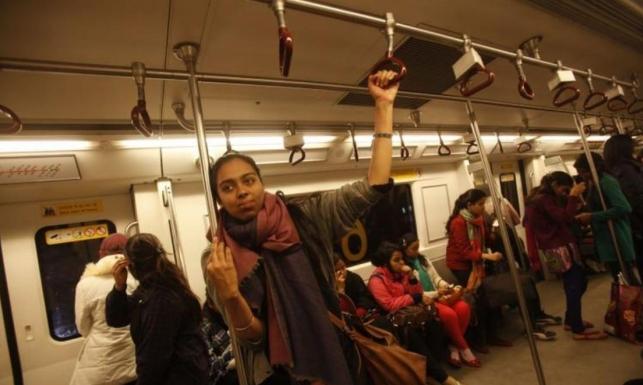 نيودلهي قد تسمح للنساء استخدام المواصلات العامة مجانا