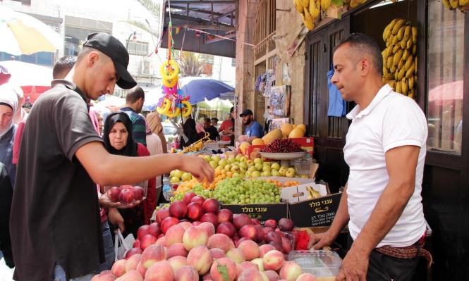 أسواق رام الله تستقبل عيد الفطر