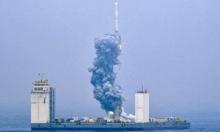 لأول مرة.. الصين تطلق صاروخا للفضاء من منصة بحرية