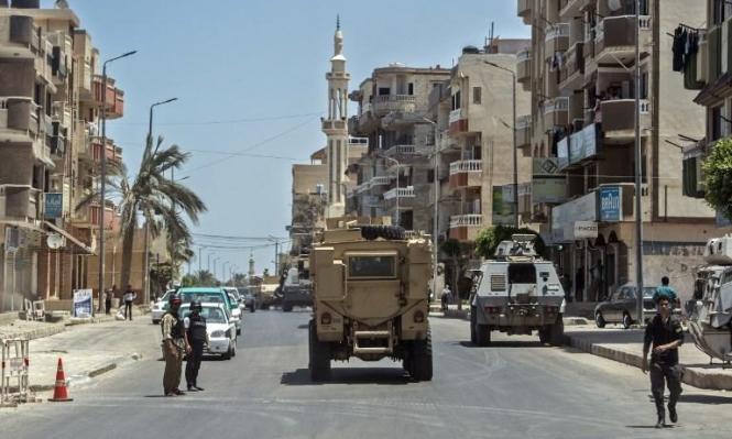 سيناء: مقتل 10 عناصر أمن في هجوم