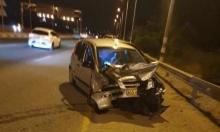 4 إصابات في حادث طرق قرب كفر قرع