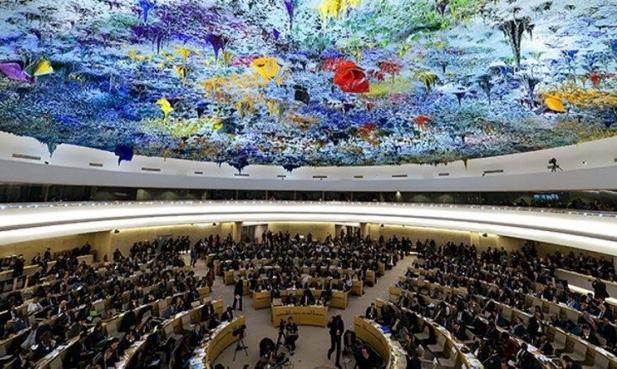 جمعية كيان تحتجأمام مجلس حقوق الإنسان
