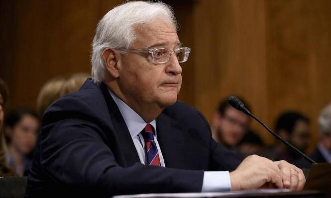 السلطة الفلسطينية تهدد بتقديم شكوى ضد فريدمان لدى الجنائية الدولية