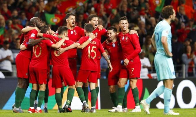 البرتغال بطلة لدوري أمم أوروبا في نسخته الأولى