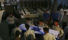 النظام ينبش مقبرة بمخيم اليرموك بحثا عن رفات جنود إسرائيليين