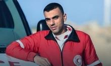 استشهاد مسعف متأثرا بجروحه بقمع الاحتلال لمسيرة العودة