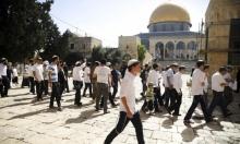 مستوطنون يقتحمون الأقصى وتقييدات على دخول الفلسطينيين للمسجد