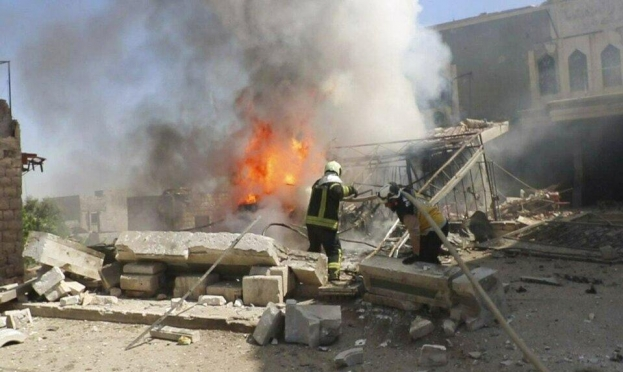 سورية: مقتل 25 مدنيا في قصف سوري وروسي لإدلب
