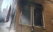 حيفا: 3 إصابات باحتراق بناية سكنية بالحليصة