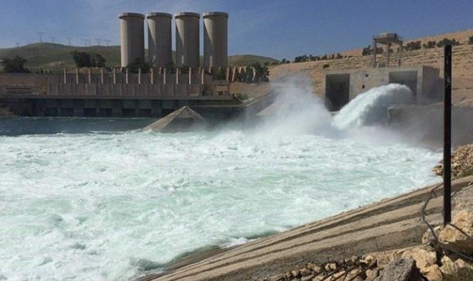 زيادة المخزون المائي في العراق 438%