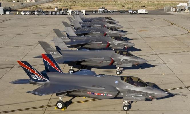 واشنطن توقف تدريب الطيارين الأتراك على مقاتلات إف-35