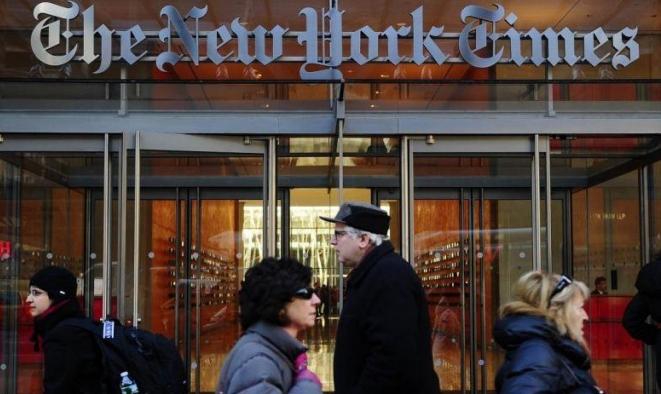 """""""نيويورك تايمز"""" تُلغي الرسوم الكاريكاتورية السياسية من نسختها الدولية"""