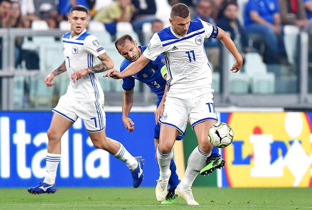 تصفيات يورو 2020: إيطاليا تتخطى البوسنة والهرسك بصعوبة