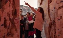 آلاف الزوار لمعرض المتحف الفلسطيني عن التحولات الفنية