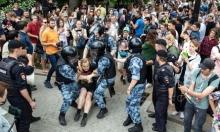 موسكو: اعتقال 400 شخص في تظاهرة ضد فساد الشرطة