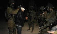 اعتقال 6 فلسطينيين بالضفة الغربية