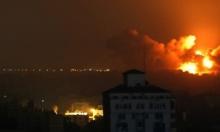 طيران الاحتلال يستهدف مواقع عسكرية في قطاع غزة
