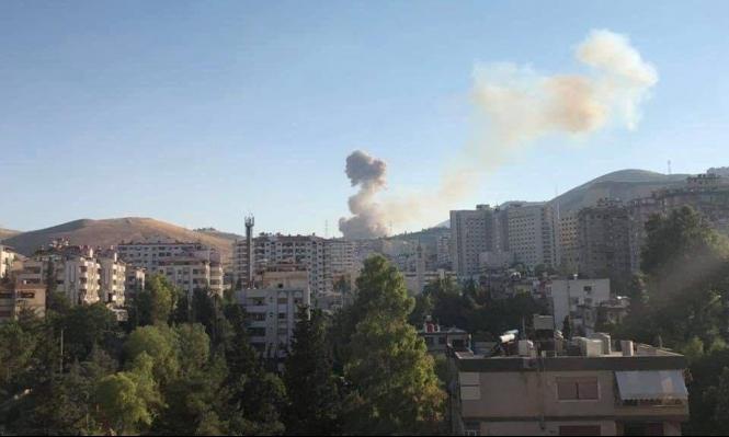انفجار في قاعدة عسكرية للنظام السوري بدمشق