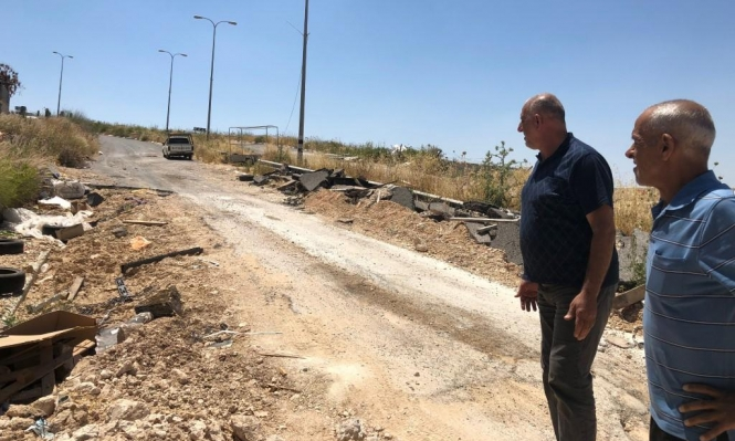 الناصرة: شارع مغلق منذ سنتين وحيّان على برميل بارود