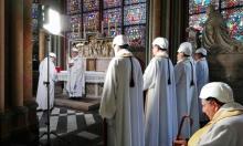 عودة الحياة إلى كاتدرائية نوتردام