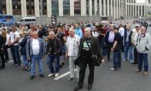 روسيا: عشرات المشاركين في مسيرة دعم للصحافيّ الاستقصائي غولونوف
