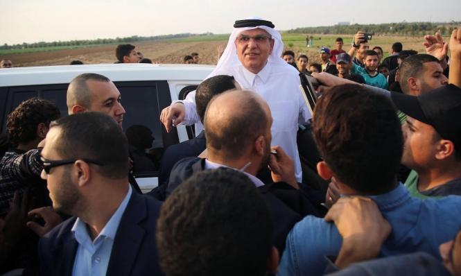 وفد قطري في غزة لإدخال المنحة المالية