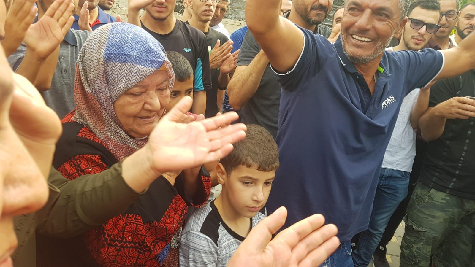 أم الفحم: ظافر جبارين ينال الحرية بعد 17 عاما من الأسر