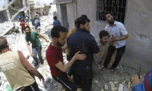 مقتل 12 مدنيا بينهم 5 أطفال بقصف صاروخي على حلب
