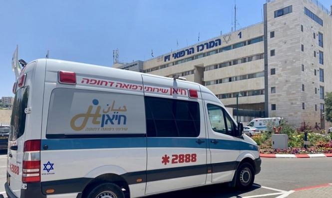 الرامة: إصابة شاب إثر سقوطه من علو