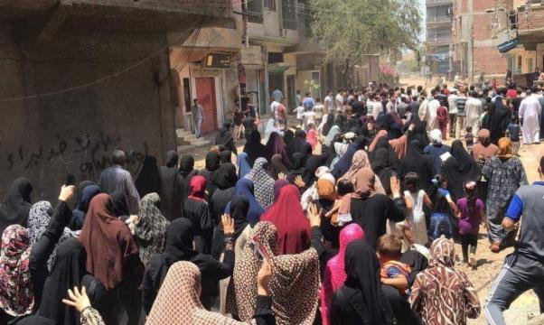 مصر: مظاهرة في مسقط رأس مرسي