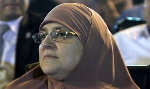 زوجة مرسي: أحتسب زوجي شهيدا