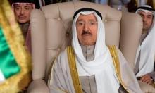 أمير الكويت بالعراق لبحث الأزمات بالخليج