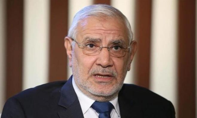 نجل المعارض المصري أبو الفتوح يُعلن أن حياة والده في خطر