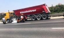 مصرع سائق دراجة نارية في حادث طرق قرب الرملة