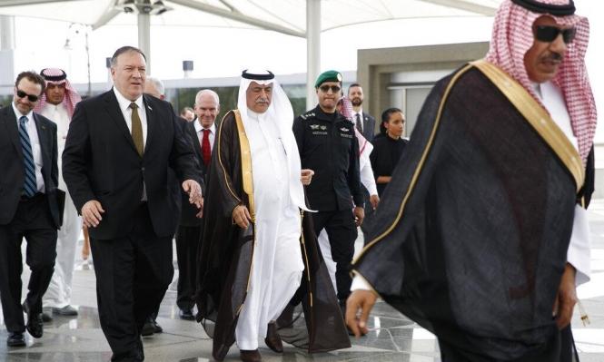 بومبيو يبحث بالسعودية والإمارات تعزيز التحالف ضد إيران