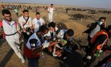 إصابات في غزة وحرائق بالمستوطنات المحيطة بالقطاع
