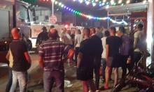 مجد الكروم: اندلاع حريق في محل تجاري